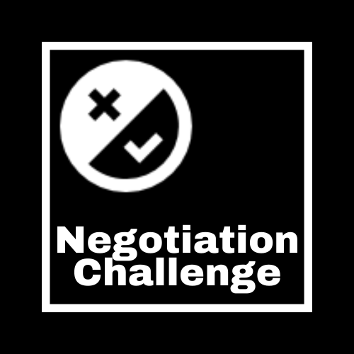 Logo for the Negotiation Challenge